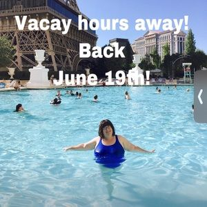 Vacation June 9th-19th!  The pools are calling!